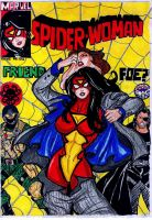 Spider Woman Issue 1 by johnnyharadrim