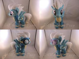 MLP Wonderbolt Fleetfoot Plush (commission) by Little-Broy-Peep