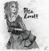 Mrs. Lovett by AKANEtheCOOL