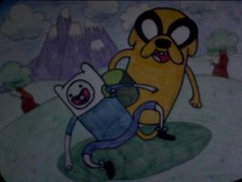 What time is it?...ADVENTURE TIME! by XxBlubehxX