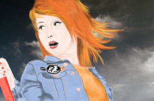 hayley williams by benzedrineaddiction