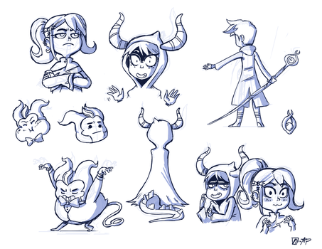MM Doodles by NicParris