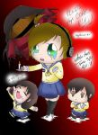 Pewds plays Corpse Party by konachan3