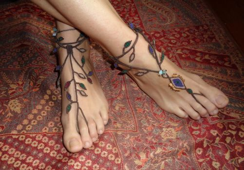 Tied up with branches by AstriasHandmade