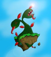 18. Nature Plant Monster by haha-tommy
