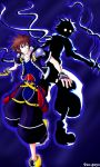 KH2: Sora and Anti-form by pen-gwyn