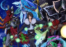 Final Fantsy VIII: Guardian Forces by Segnaless