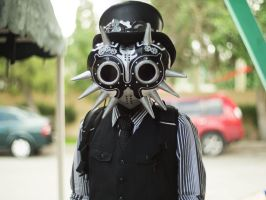 Steampunk Skull Kid 01 by Opheroth