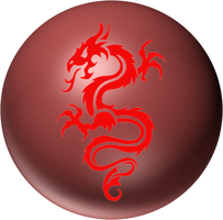 red dragon orb by desithen