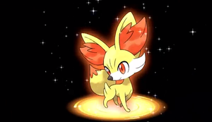 Fennikin New Fire Starter Pokemon by redwolf18blue