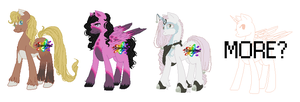 Pone adopts (1 left) by ScorpionPixels