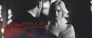 Caroline and Klaus Signature 3x14 Vampire Diaries by MsCanines
