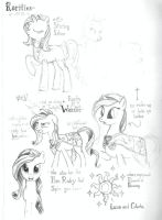 Rarity Sketches (Rarities) by RedJack-Nine
