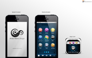 Mobile App Design by Almoutasemz