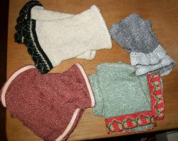 More Assorted Wristlets by Indiliel