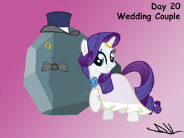 Bootcamp Day 20: Wedding Couple by Sintakhra