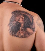 Luis Royo girl by viptattoo