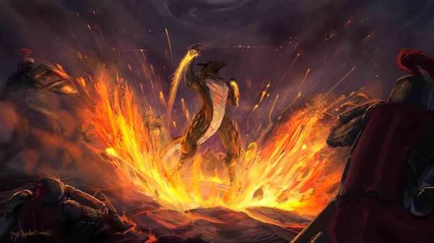 The Fire Within - Commission by TheCondemnedArtist