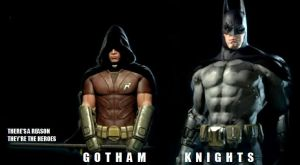 Gotham Knights T.V. Series 1X01 Pilot by RobertTheComicWriter