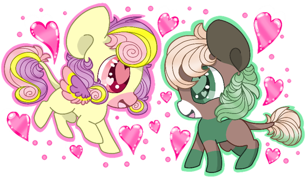 Ginko and Lulu  in love by Kagalicious