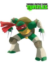 Raphael is cool but crude by Chrisgemini
