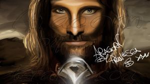 Aragorn from Lord Of The Rings by NicknameFrancyBrt