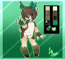 windfaII Contest Entry Fursona Design by LittleChewrrie