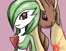 Gardevoir Lopunny Petition by BombOPAUL