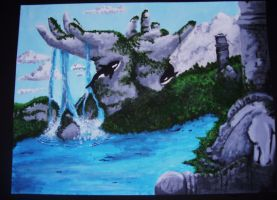 Surreal Painting by akina-nicole