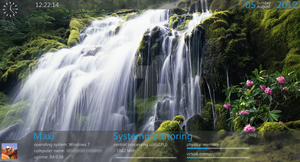 another Rainmeter skin by Freaky333
