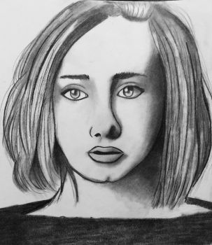 Adele drawing by LizWright134