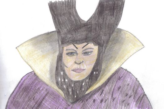 Anne Hegerty As The Wicked Queen by therealmoshmonkey