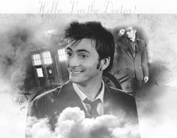 Hello I'm the Doctor by TinaTurtle