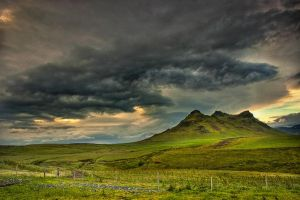 Iceland - storm whether by PatiMakowska