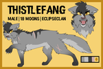 Thistlefang [REF SHEET] by Warrior-Junkie