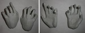 BJD Hands Progress by ab-rowin