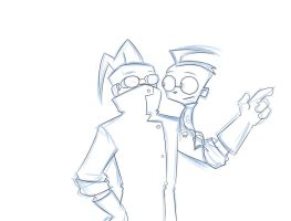 IZ: Father and Son by Snowflake-owl