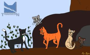Ravenpaw caught a snake by Rin4