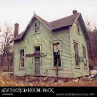 Abandoned House Pack by sadistik-stock