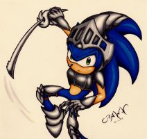 Sonic: Armoured by RAWN89