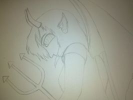 My OC, Alexandra:not finished: by Jazzlednightmare16