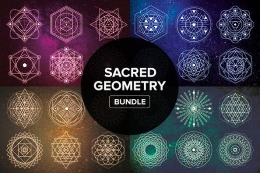 Sacred Geometry Bundle by styleWish