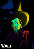 Elphaba color by leandrols
