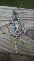 Winged Dreams Dreamcatcher by WyckedDreamsDesigns