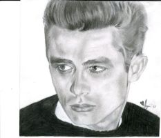 James Dean by DiPorcelainPinUp