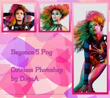 Beyonce 5 Png by ByDogaA