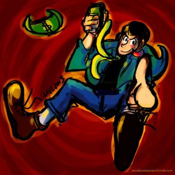 Doodle a Day - Day 083 - Lupin III by melgcabral