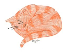 Sleeping Cat by Leopardflower