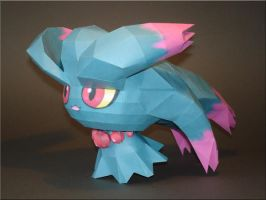 Misdreavus Papercraft by Skele-kitty