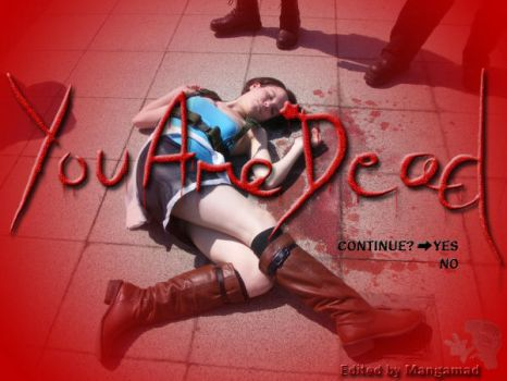 Resy Jill cosplay YOU ARE DEAD by Mangamad